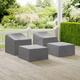 Crosley 4-Piece Furniture Cover Set