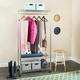 Safavieh Gordon Chrome Wire 3 Tier Garment Rack