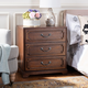 Safavieh Leighton 3 Drawer Nightstand