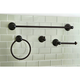 Kingston Brass American Classic 4-piece Bathroom Hardware Set