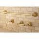 Kingston Brass Restoration 3-piece Bathroom Hardware Set with 24
