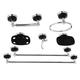 Kingston Brass Water Onyx 7-piece Bathroom Hardware Set