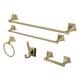 Kingston Brass Monarch 5-piece Bathroom Hardware Set
