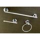 Kingston Brass Concord 3-piece Bathroom Hardware Set with 18