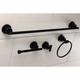 Kingston Brass Concord 4-piece Bathroom Hardware Set with 18