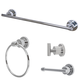 Kingston Brass Concord 4-piece Bathroom Hardware Set with 18