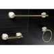 Kingston Brass Victorian 3-piece Bathroom Hardware Set with 18