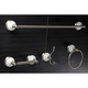 Kingston Brass Victorian 4-piece Bathroom Hardware Set with 24