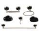 Kingston Brass Water Onyx 6-piece Bathroom Hardware Set