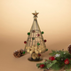 Christmas 14-Inch Metal Holiday Wine Cork Holder Tree