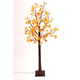 Fall Lighted Maple Leaf Tree with 72 Warm White Micro LED Lights