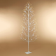 Christmas 72-Inch White Electric Birch Tree with 588 LED Lights