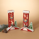 Christmas Assorted Battery Operated Lighted Chimney Décor (Set of 2)