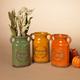 Fall Assorted Ceramic Harvest Vases (Set of 3)