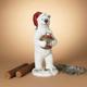 Christmas 29.5-Inch Holiday Polar Bear Holding Ornament