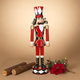 Christmas 33.8-Inch Metal Toy Solider