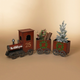 Christmas 65.25-Inch North Pole Express Metal Train
