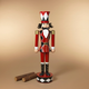 Christmas 51.75-Inch Metal Toy Solider