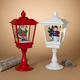 Christmas Battery Operated Musical Snowing Lanterns (Set of 2)