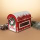 Christmas 13.75-Inch Wooden Holiday Mailbox For Santa