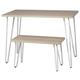 Blariden Desk with Bench