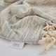 Ivy Luxury Maine Bath Towel Pack of 3 (Terra/Ecru)