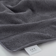 Ivy Luxury Rice Effect Turkish Aegean Cotton Washclosths Towel Pack of 6 (Storm Gray)