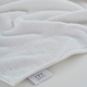 Ivy Luxury Rice Effect Turkish Aegean Cotton Washclosths Towel Pack of 6 (White)