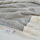 Ivy Luxury Ohio Turkish Beach Towel Pack of 2 (Gray)