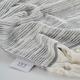 Ivy Luxury Maine Towel Set of 3 (Gray/White)