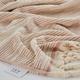 Ivy Luxury Maine Towel Set of 4 (Cloud/Ecru)