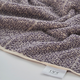 Ivy Luxury Hitit Jacquard Yarn Dyed Turkish Bath Towels Pack of 3 (Heather/Ecru)