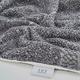 Ivy Luxury Hitit Jacquard Yarn Dyed Turkish Bath Towels Pack of 3 (Gray/White)