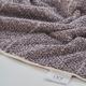 Ivy Luxury Hitit Jacquard Yarn Dyed Turkish Towel Set of 4 (Heather/Ecru)