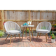 Linon Brooks 3-Piece Bistro Indoor/Outdoor Set
