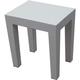 DecoTeak Design By Intent Polypropylene Plastic Shower Bench
