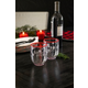 Christmas TarHong Holiday 15 oz Cozy Premium Plastic Glass (Set of 6)