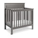 Davinci Autumn 4-in-1 Convertible Mini Crib in Slate