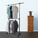 Contemporary 2 Tier Expandable Garment Rack