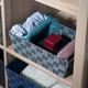 Contemporary Polyester Small Woven Strap Open Bin