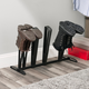 Contemporary Four Pair Adjustable Boot Rack
