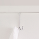 Over-the-Door Double Hook Over the Door Hanging Rack