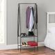 Contemporary Free Standing Garment Rack w/ Shelves