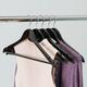 Contemporary Non-Slip Wood Hangers (Set of 5)