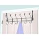 Over-the-Door Six Hook Over the Door Hanging Rack