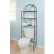 Home Accents 2 Shelf Steel Bathroom Space Saver