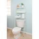 Home Accents 3 Shelf Steel Bathroom Space Saver