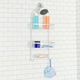 Home Basics Home Basics Rust-Resistant 2 Tier Aluminum Shower Caddy with Built-in Hooks and Soap Tray