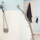 Home Accents Steel Curved Shower Rod