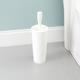 Home Accents Plastic Toilet Brush Holder